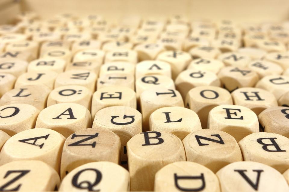 设置木桩与英文字母的字符