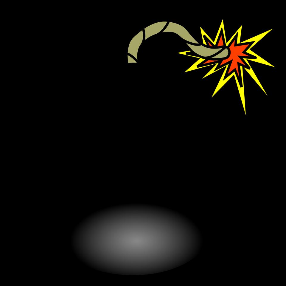 Bomb icon. Bomb icon vector