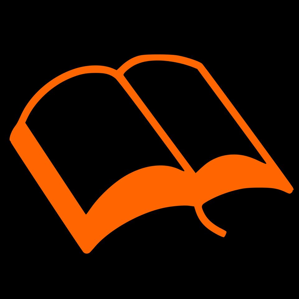 書籍のシルエット