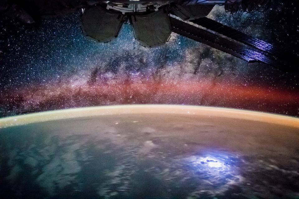 the world at night on every orbit