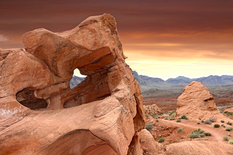 Valley of Fire State Park, USA. Valley of Fire State Park