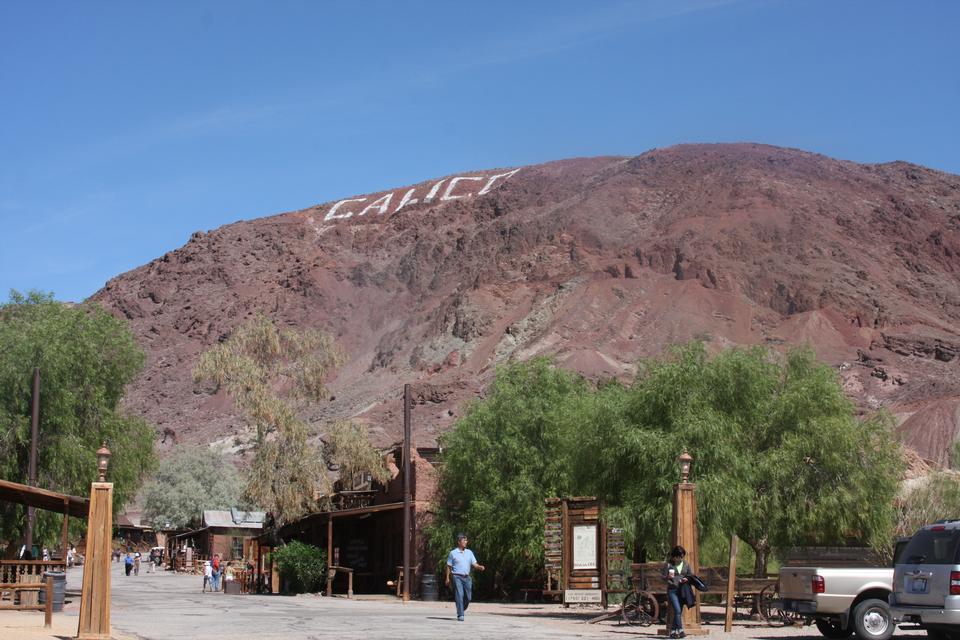 Calico is a ghost town in San Bernardino County, California