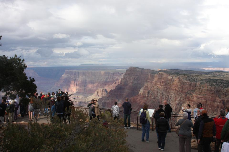 borda sul do Grand Canyon National Park