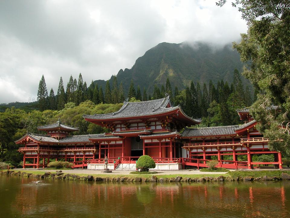 Valle de los Templos en Oahu, Hawaii