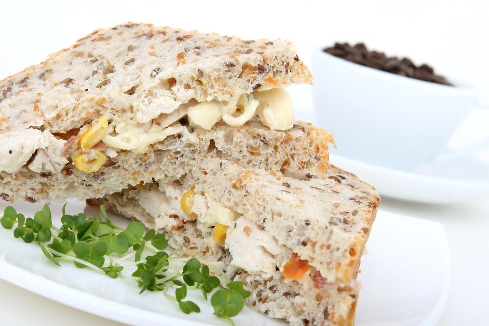 Club Sandwich with  Vegetables