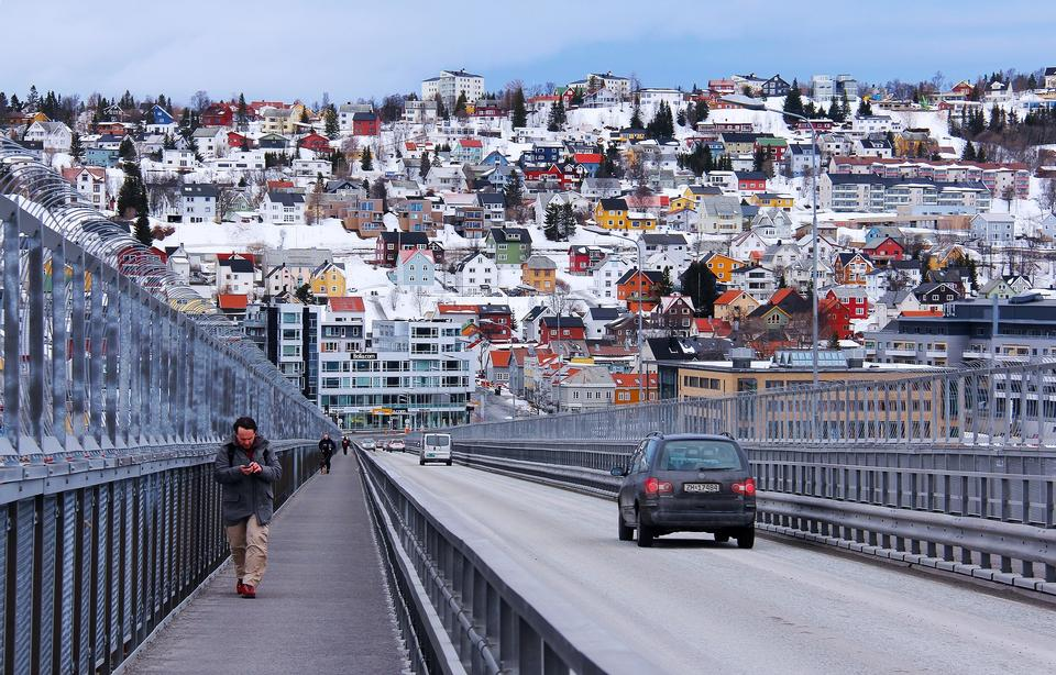 The historical part of the city. Norway