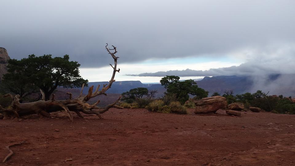 光明天使小径在大峡谷国家公园