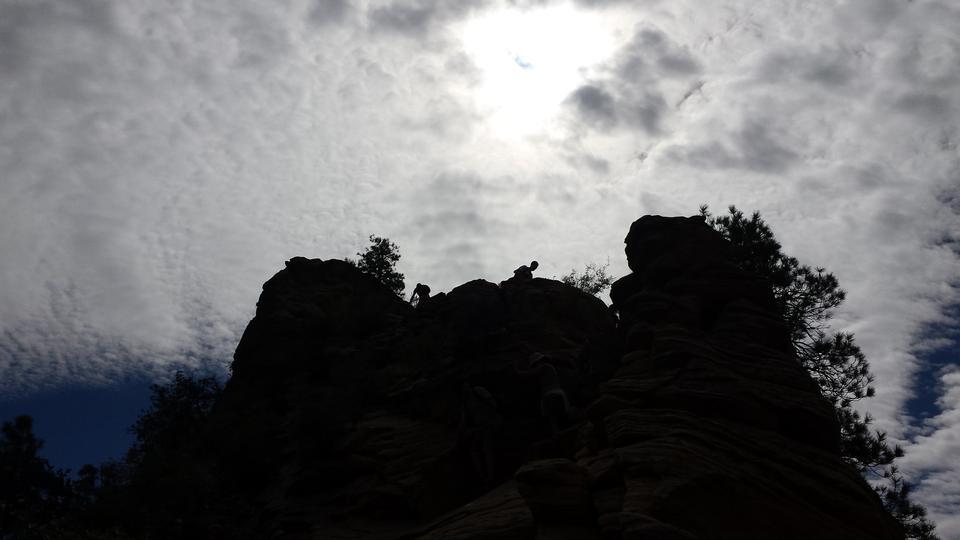 布萊斯峽谷國家公園在猶他州,美國