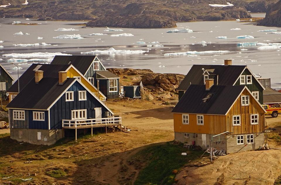 Tasiilaq East Greenland Greenland Village Fjord