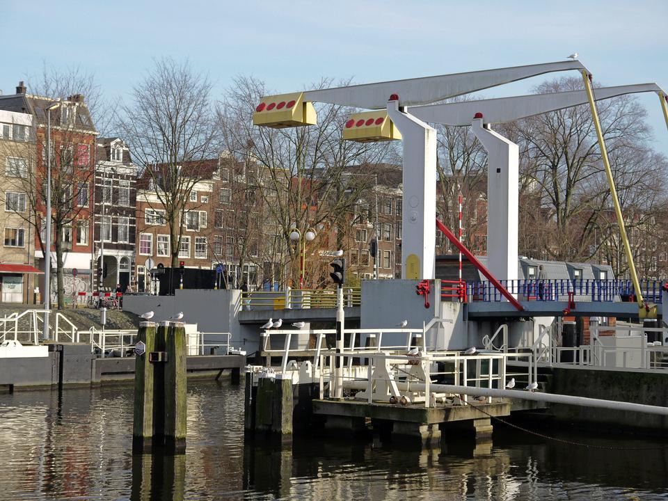 Canal Pont Amsterdam, Netherlands