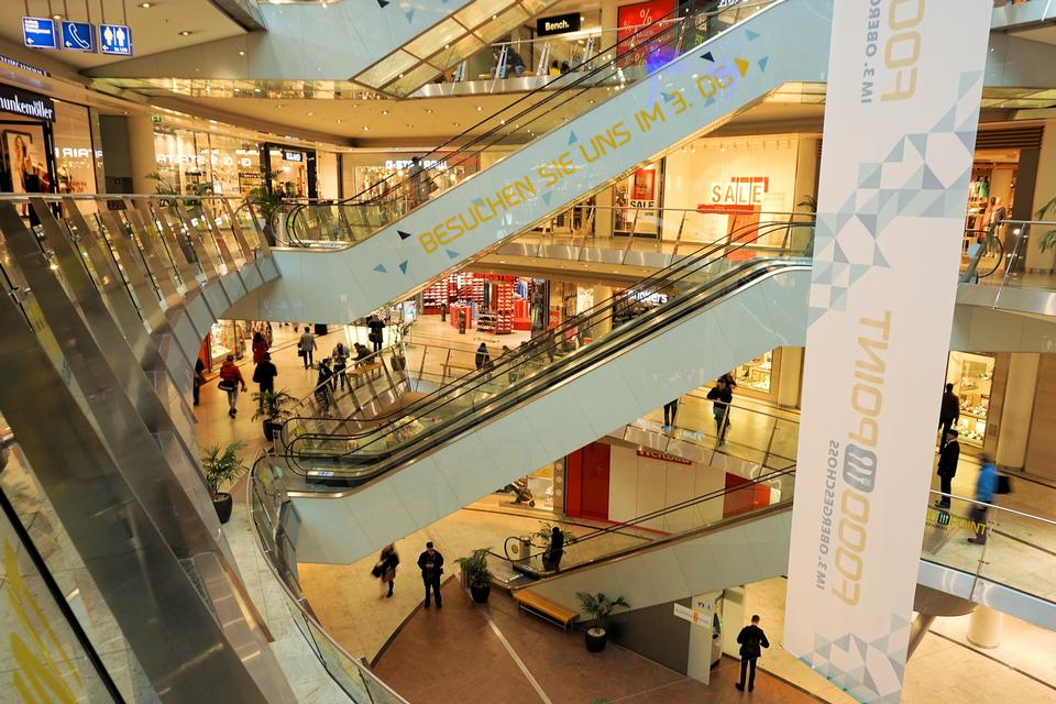 Department Store Shopping Fashion Architecture Buy