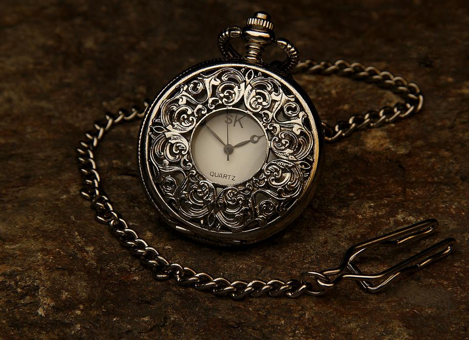 Pocket watch swinging used in hypnosis treatment