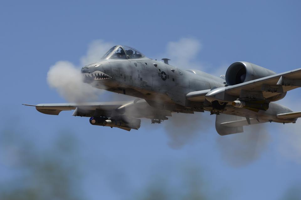 An A-10C Thunderbolt Hawgsmoke