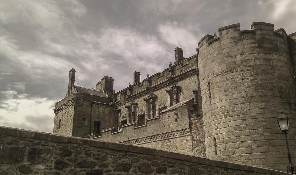 Stirling Castle, Stirlingshire, Schottland
