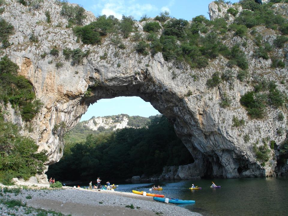 Pont d`arc, Ardèche France