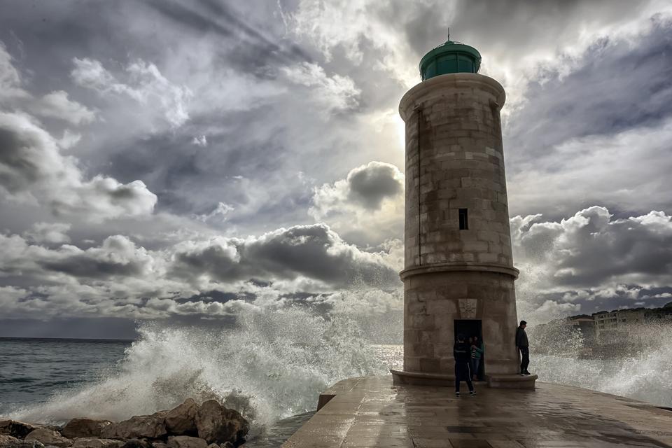 石燈塔如果馬賽附近島嶼