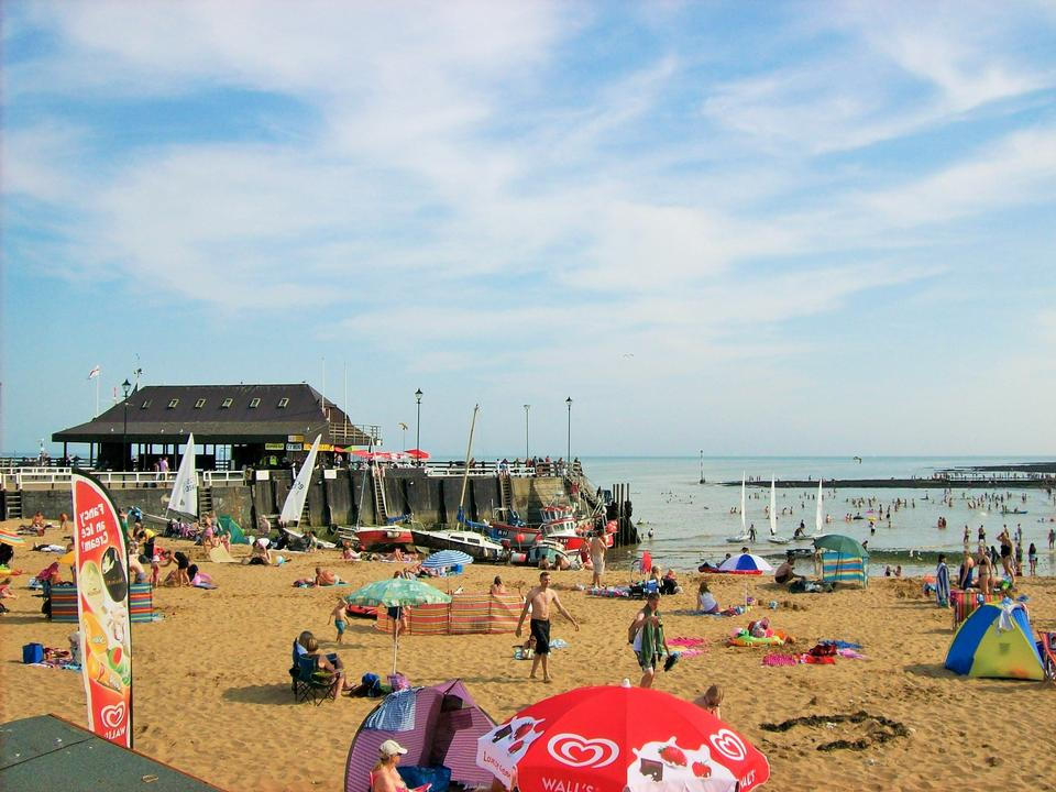 Broadstairs Beach in Kent