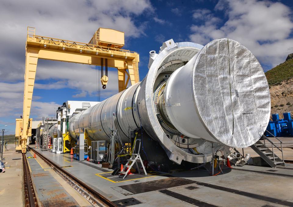 助推器NASA的新型火箭