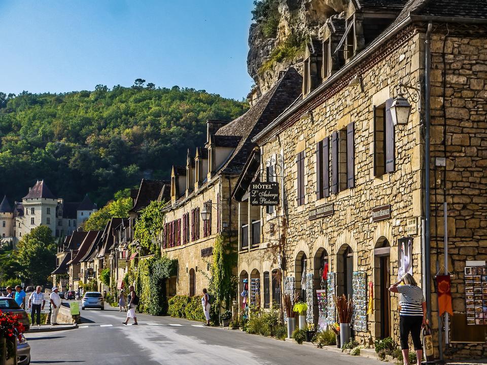 France Périgord People Medieval Medieval Village