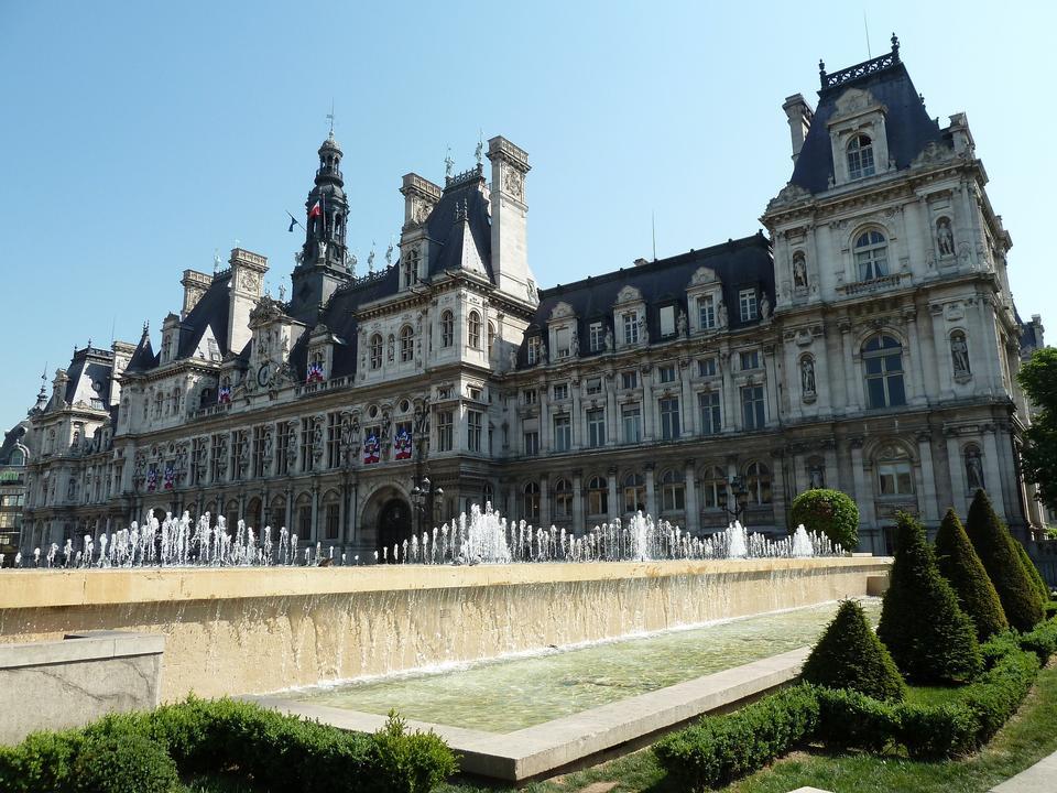 巴黎市政厅市政厅法国