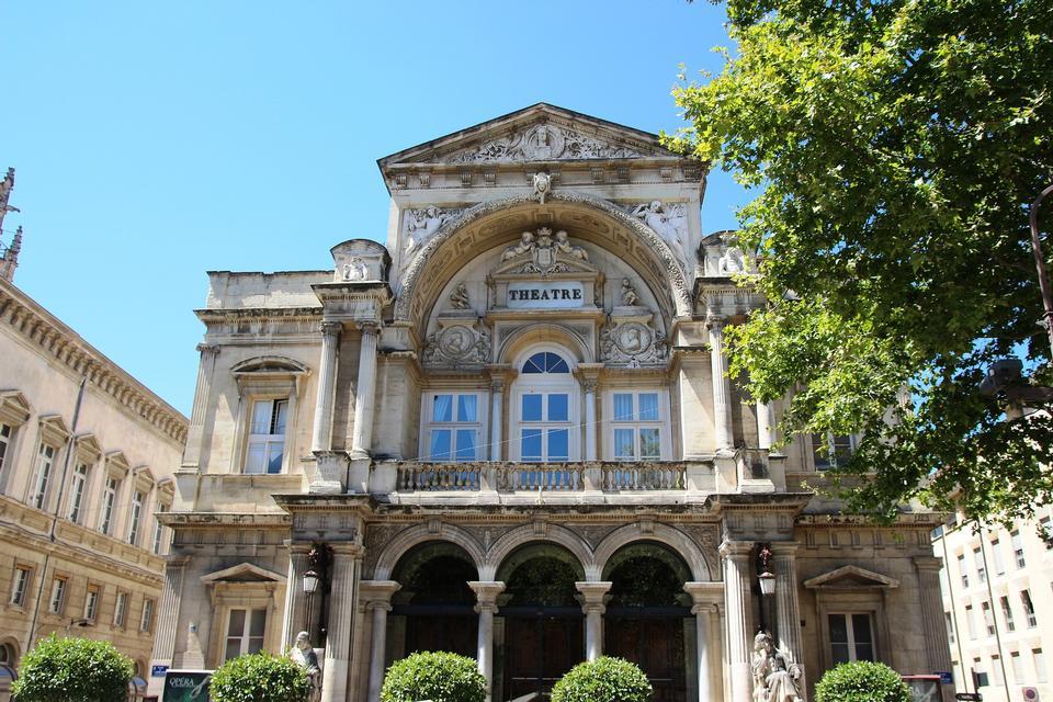Avignon Opera France Architecture