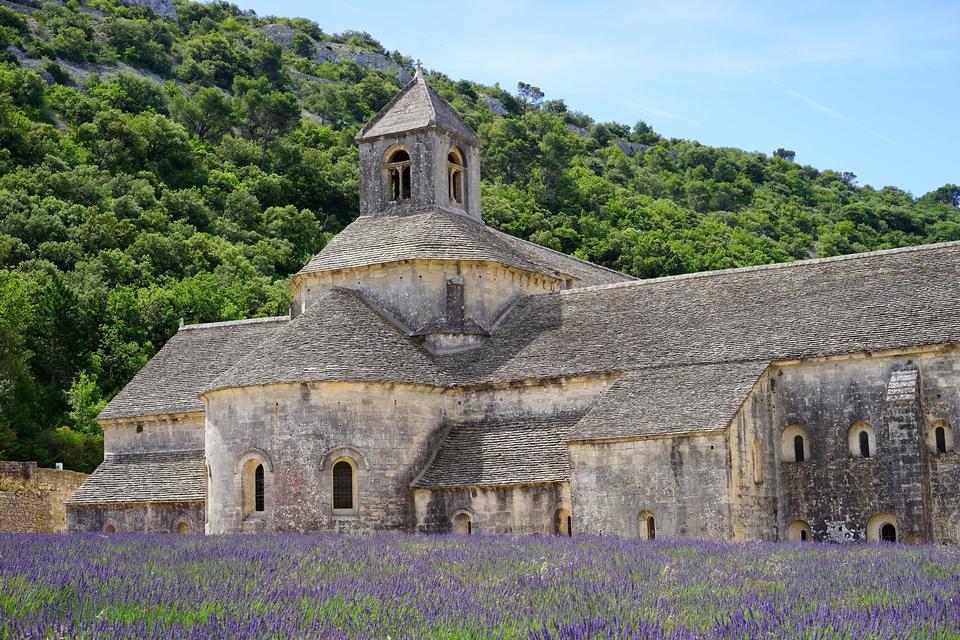 修道院Sénanque修道院修道院