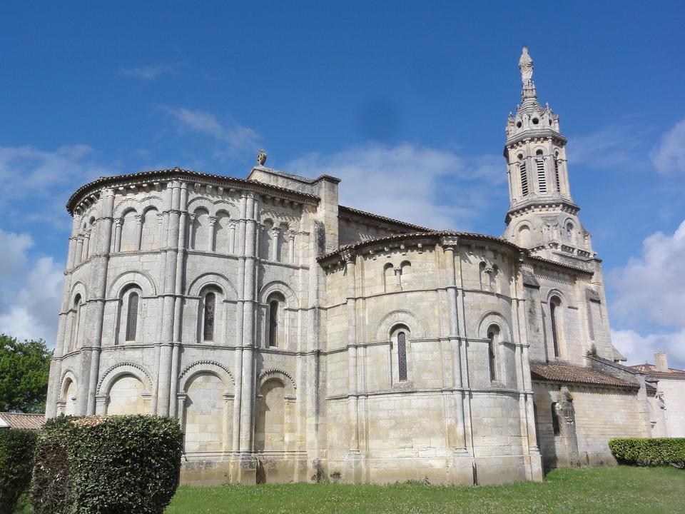 Bayon Sur Gironde Notre Dame Church Building
