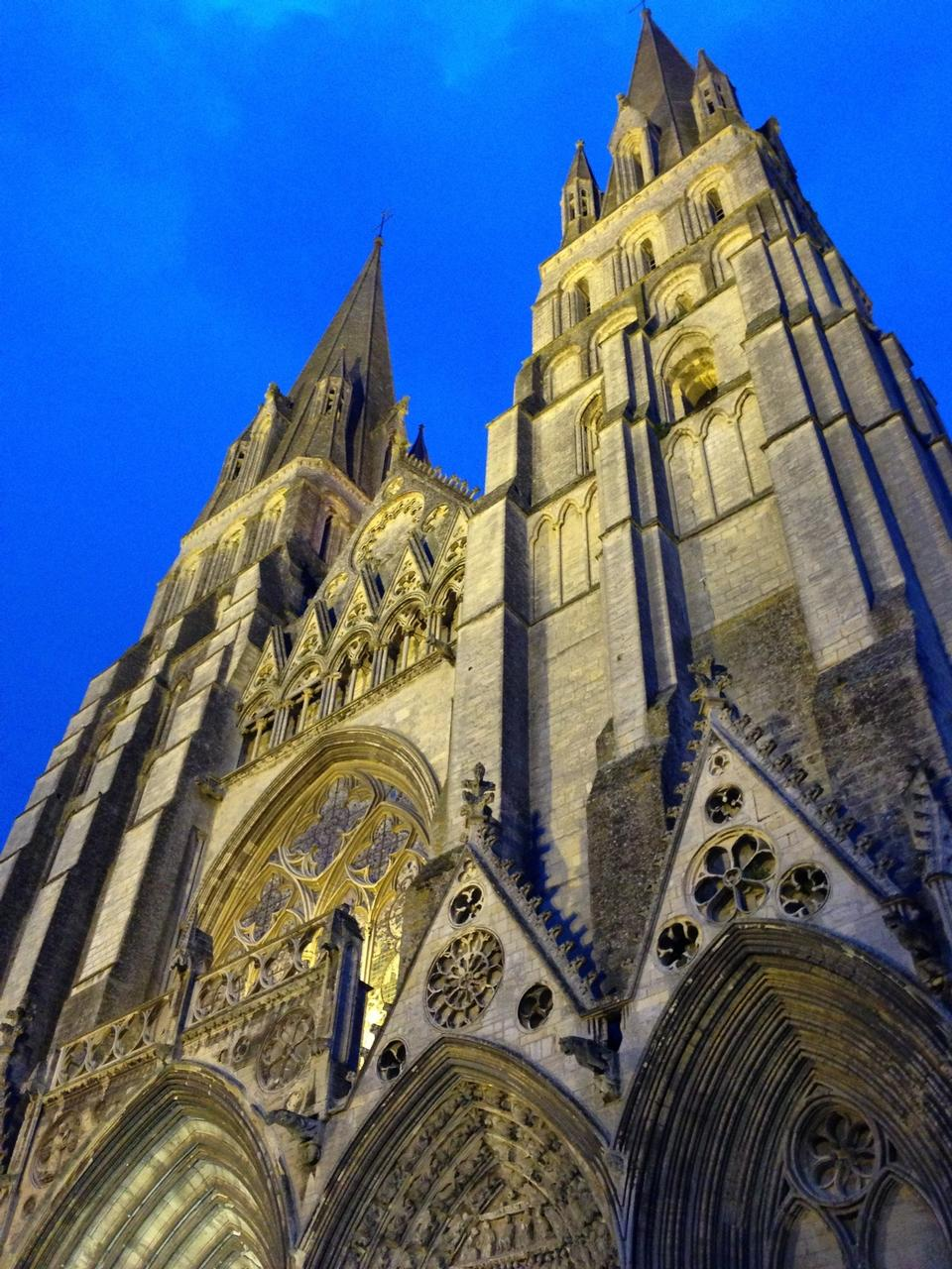 Bayeux France Notre Dame Cathedral Architecture