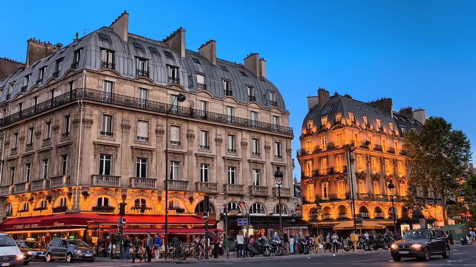 餐厅咖啡厅乐圣出发巴黎-Michel