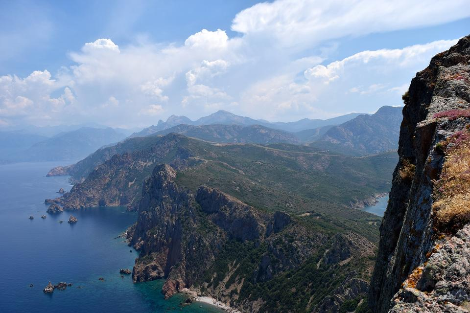 Soujanya Rosso Corsica Mountain Mountains View