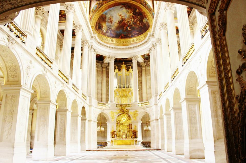 Interior of Chateau de Versailles