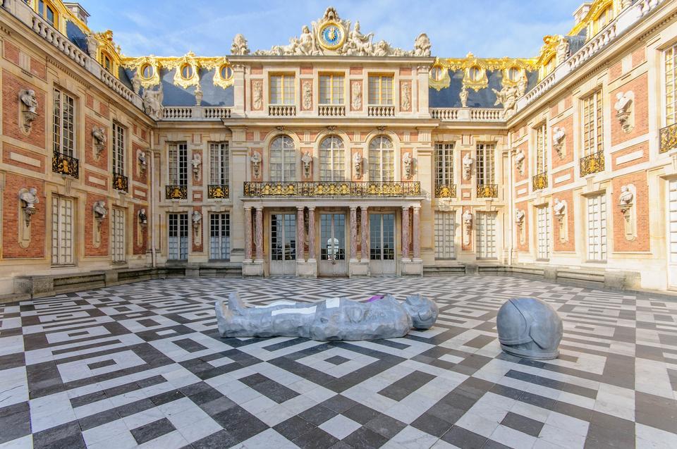 Versailles Castle France Famous Palatial