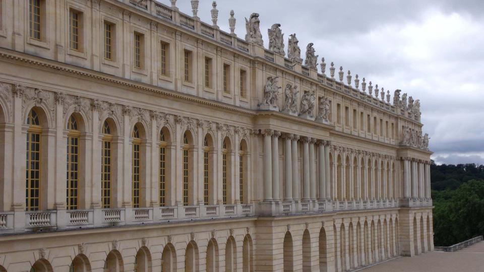 巴黎凡尔赛城堡建设