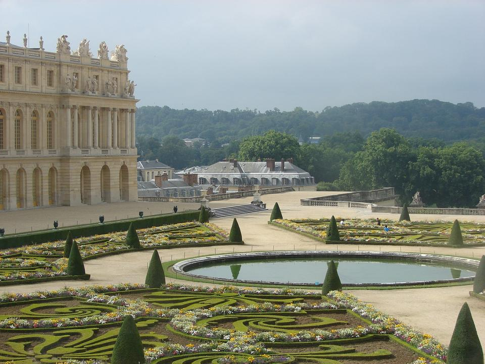 凡爾賽花園法國皇宮歷史地標