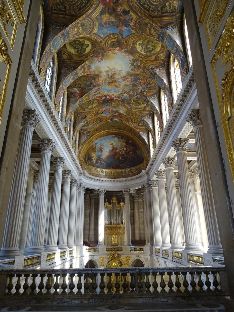 ミラーのベルサイユパリフランス宮殿ホール
