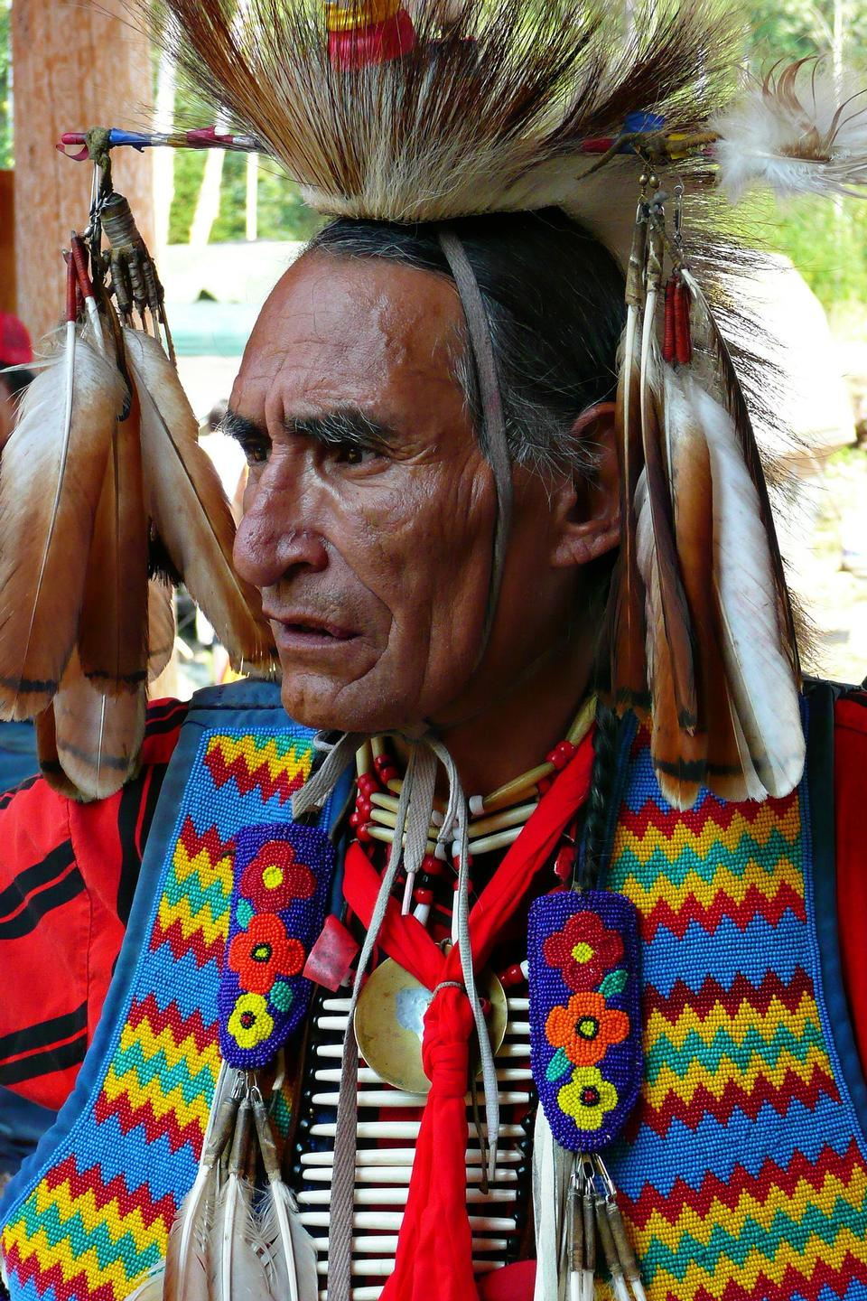 Dancers participate Red Mountain Eagle Pow-wow