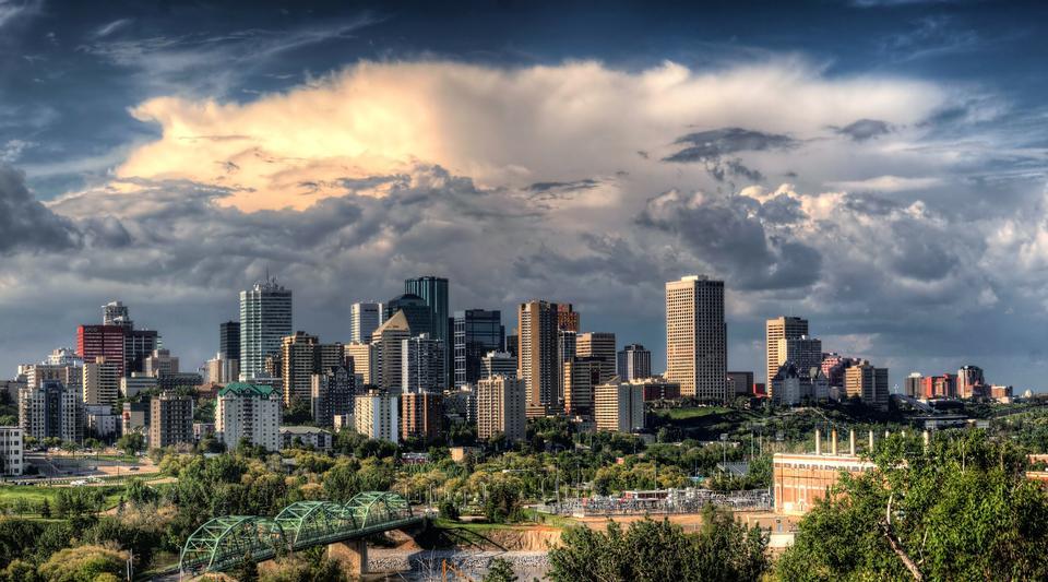 Skyscrapers of Calgary, Alberta, Canada
