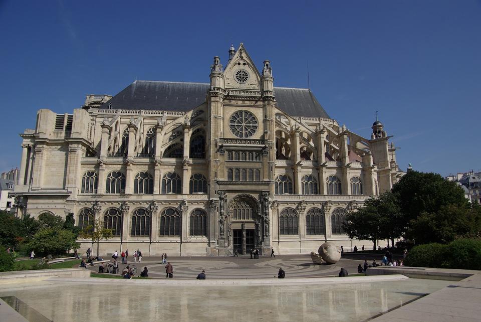 Forum des Halles购物中心巴黎体系结构构建欧洲