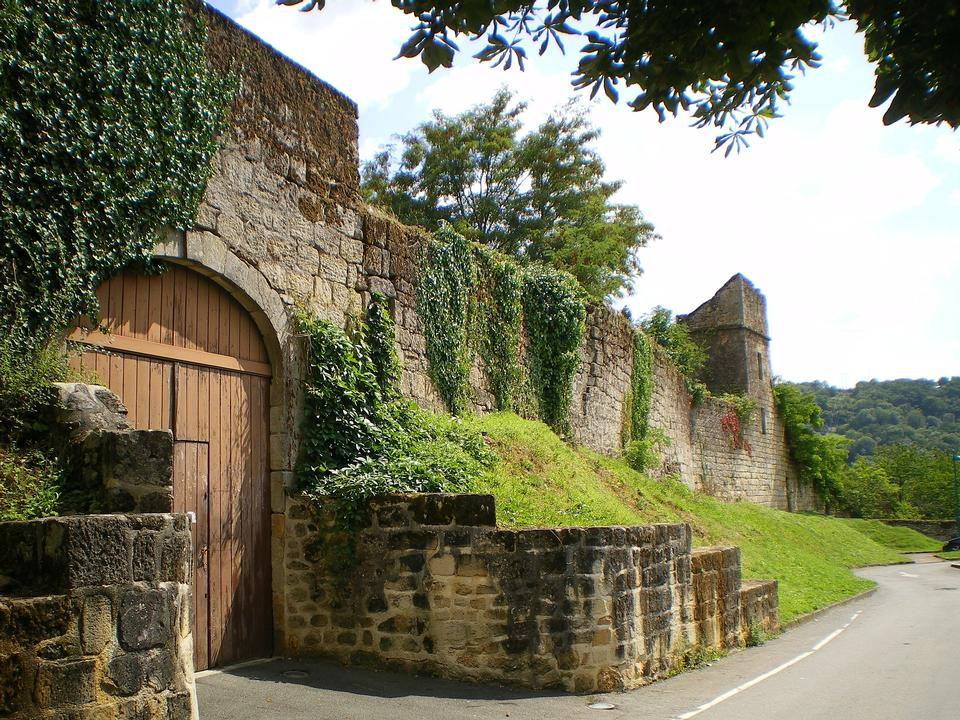 Figeac France Castle Fortress Old Historical