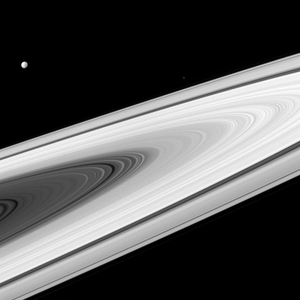 土星的主要戒指