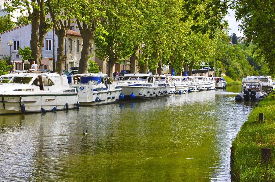 France Carcassonne River Boats Yacht Charter