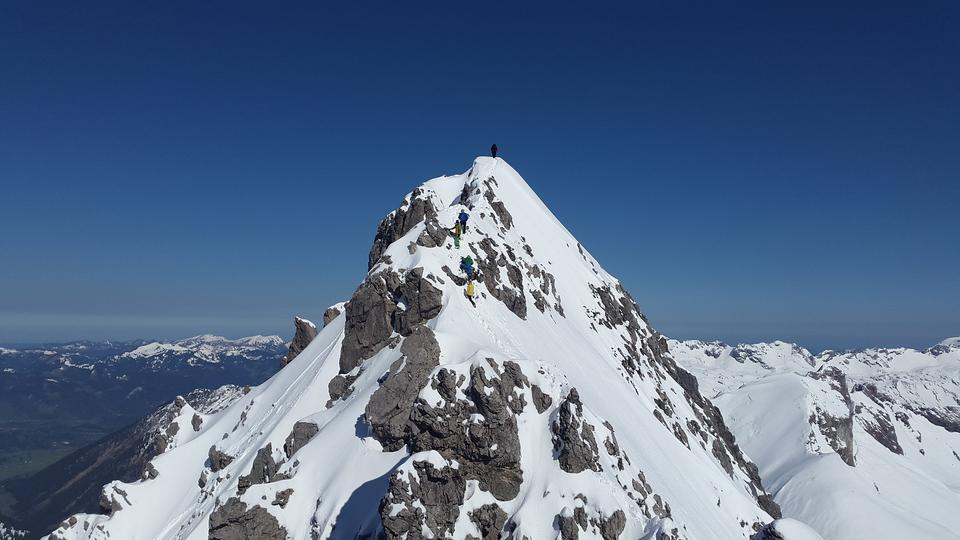 マウンテンサミットサミット山冬マウンテニア