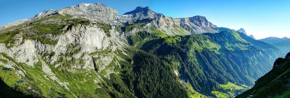 Switzerland Mountains Nature Landscape Alp Rock
