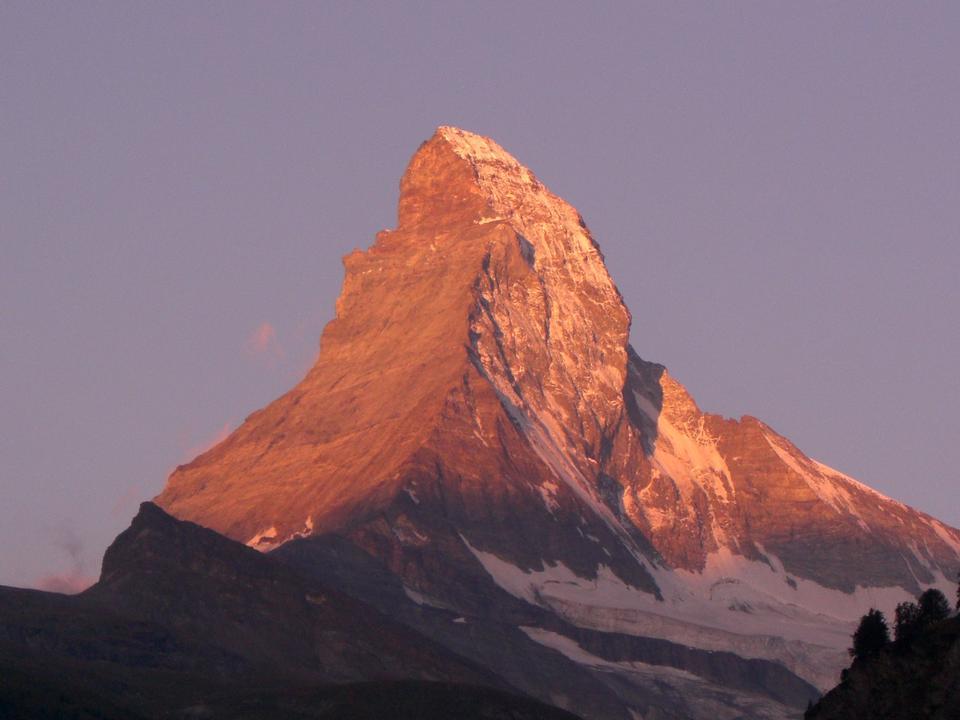 Matterhorn Alpine Valais Mountain