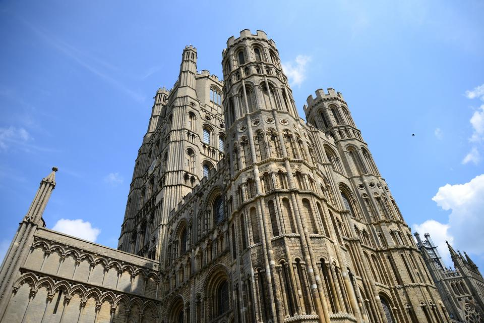 Ely Cathedral Colossal Church Perspective