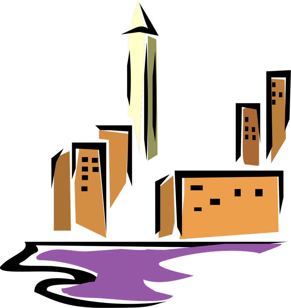 Icon for towns and buildings