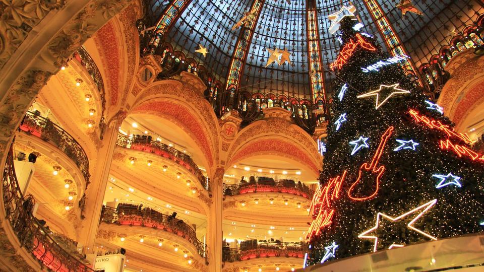 Lafayette Skylight Dome Frankreich