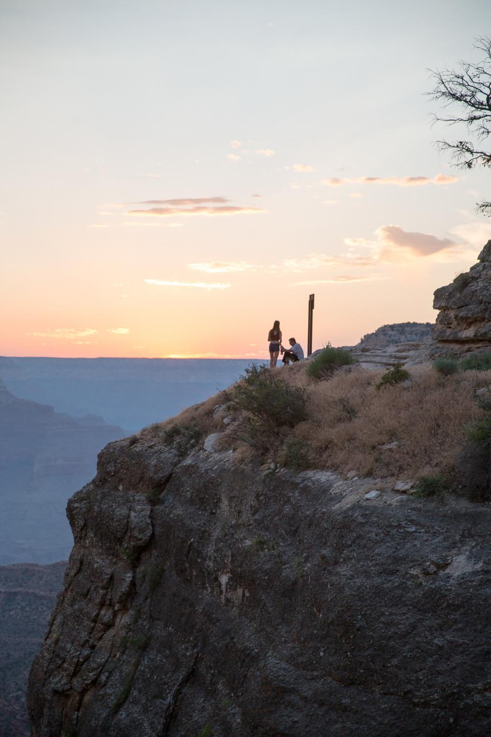 Grand Canyon National Park view in the morning light
