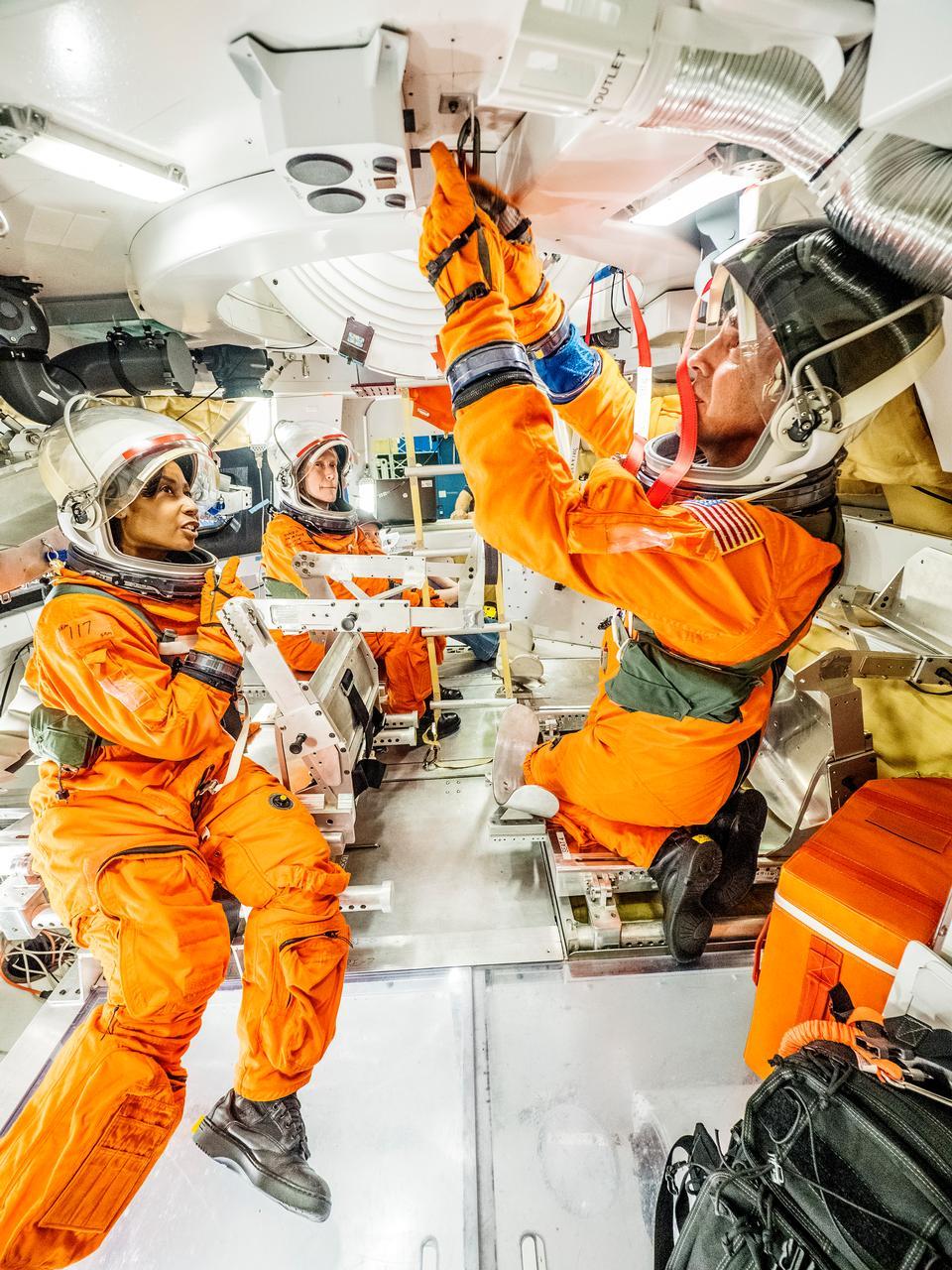 Astronauts Test
