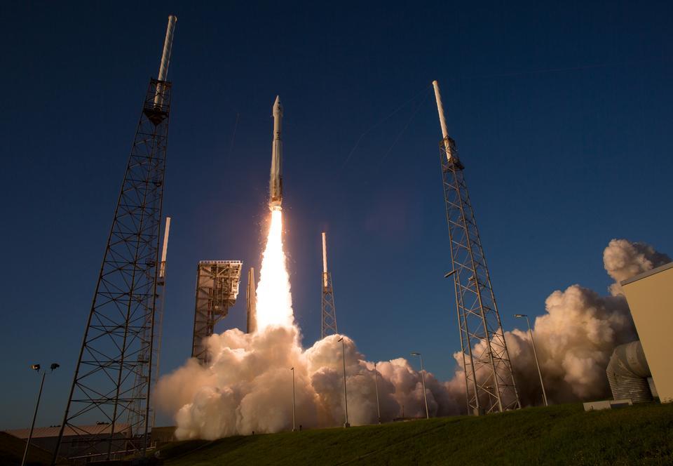 O foguete Atlas Vault da United Launch Alliance